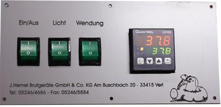 Digital temperature regulation with cooling function